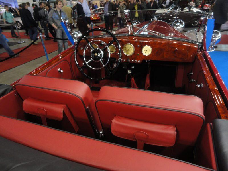Horch 855 Spezial Roadster Holz von uns gefertigt