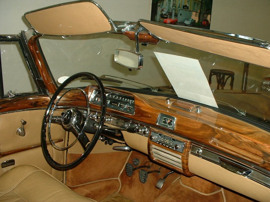 Mercedes Ponton, 220S, Cabriolet