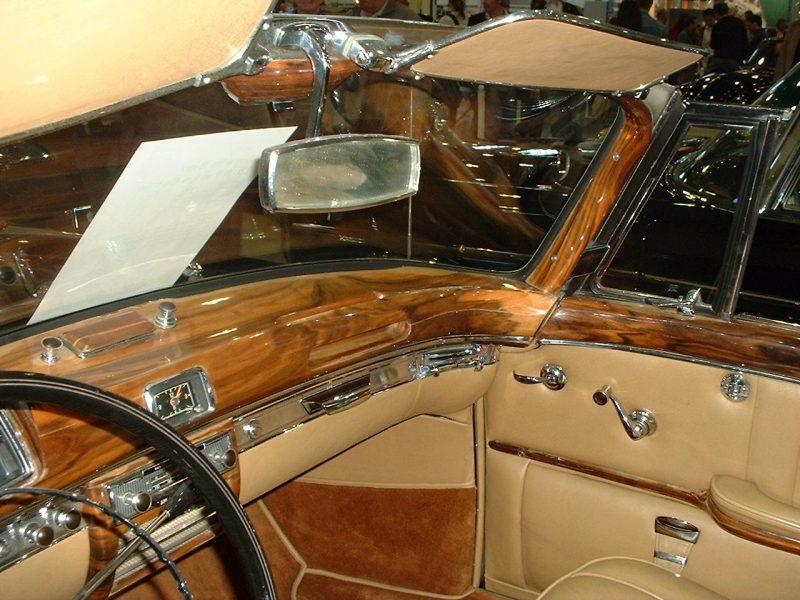 Mercedes Ponton 220S, Cabriolet